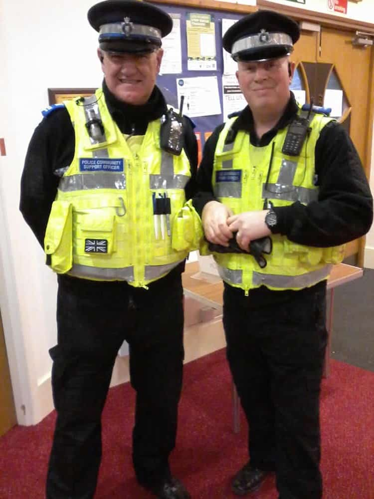 PCSOs visit the lunch clubs