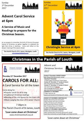 2017 christmas in the parish of louth
