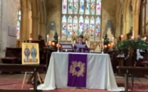 Holy Communion on the Third Sunday of Advent
