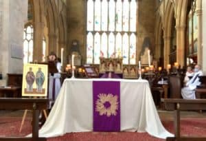 Sung Eucharist for the Second Sunday of Lent & Feast of St Herefrith (28th February 2021)