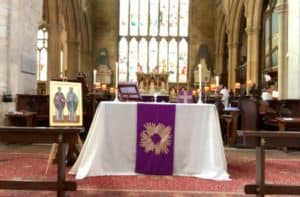 Sung Eucharist for the Fifth Sunday of Lent
