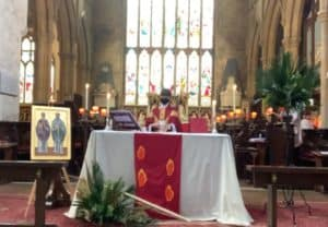 Eucharist on Palm Sunday 2021