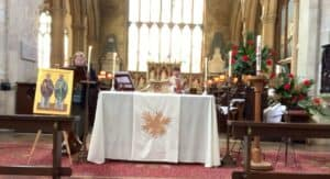 Eucharist service 25th April 21