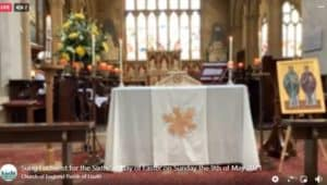 Sung Eucharist for the Sixth Sunday of Easter on Sunday the 9th of May 2021
