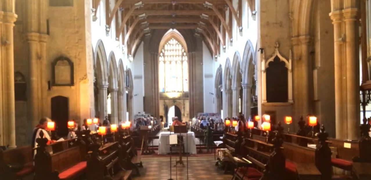 The Licensing of Rev'd Cameron Watt - Interim Priest in Charge