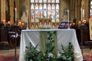 Eucharist sunday 29th August 2021