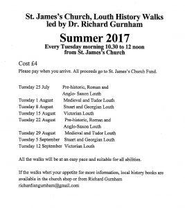 Summer History Walks