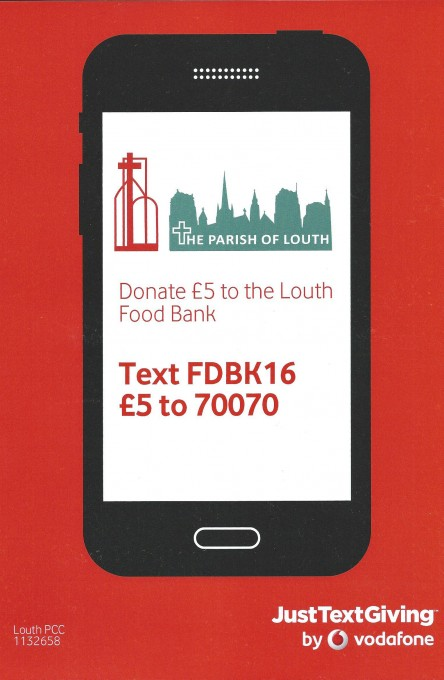 donate to louth food bank