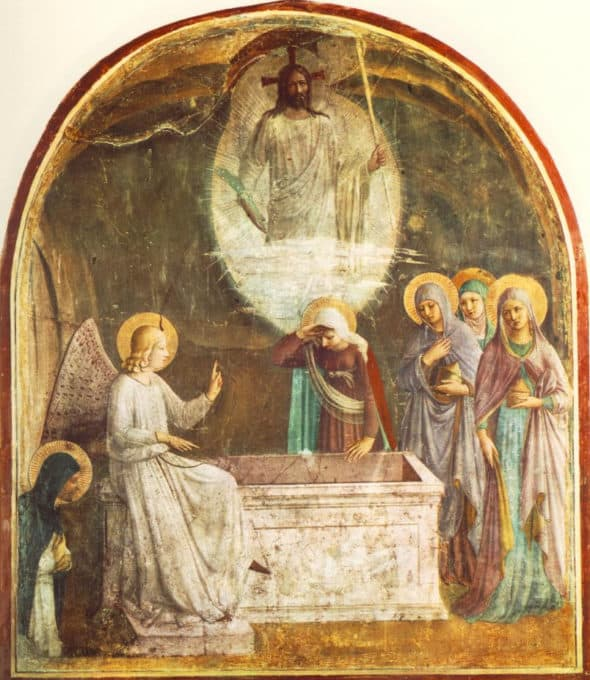 painting by the late medieval Florentine Dominican, Fra Angelico, the Angelic Friar
