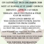 Christmas Pudding Walk