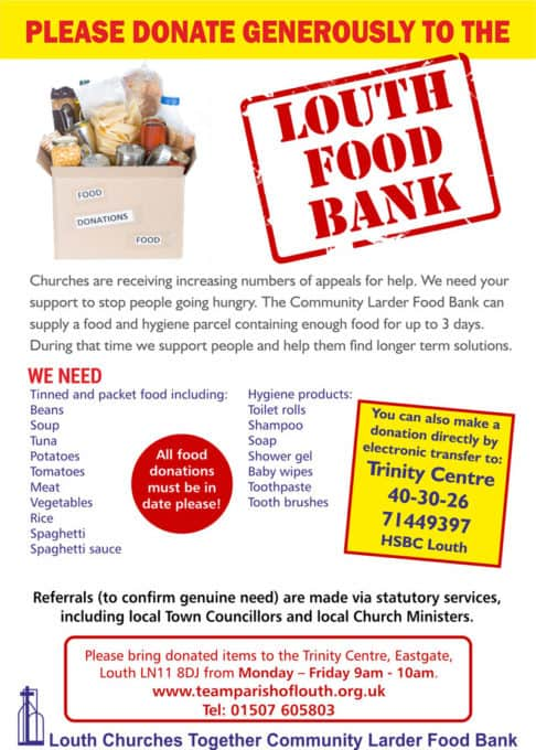 Foodbank in Louth