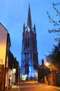 st james in blue for autism